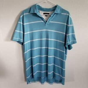 Banana Republic Fitted Pima Polo Size Large
